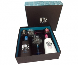 Conj. Gin Big Boss Duo Dry Pink F