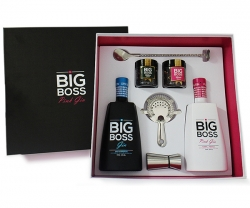 Conj. Gin Big Boss Duo Dry Pink E