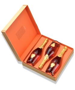 Espumante MURGANHEIRA CZAR Grand Cuvée Rosé Bruto Cx 3 grf