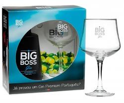 Pack Gin Big Boss Dry + Copo com caixa