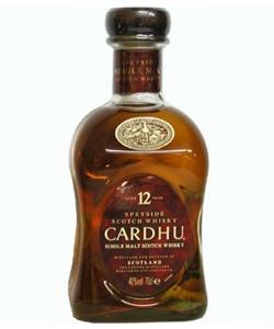 Whisky Cardhu Malte 12 Anos